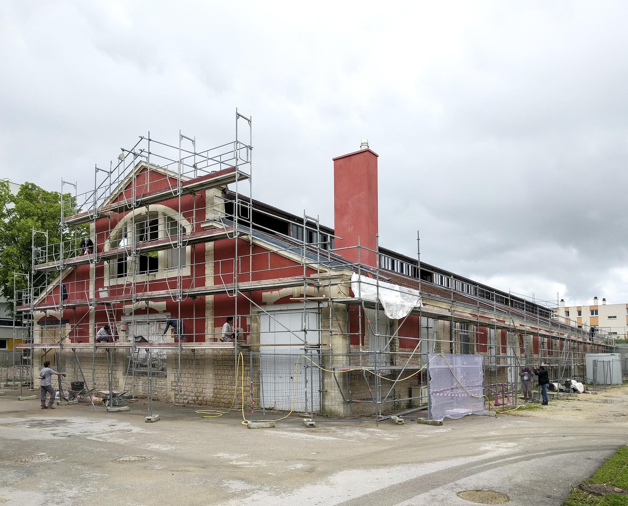 Chouette architecture - réhabilitation Halle 38 Dijon - 2200 13