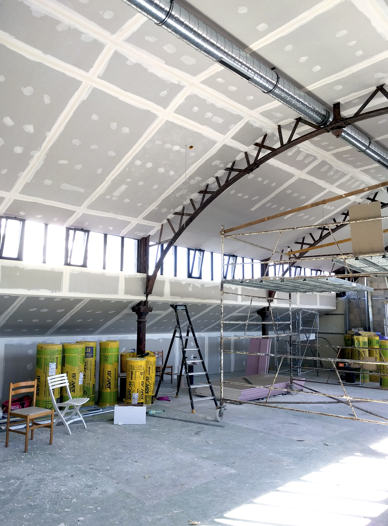 Chouette architecture - réhabilitation Halle 38 Dijon - 2200 15