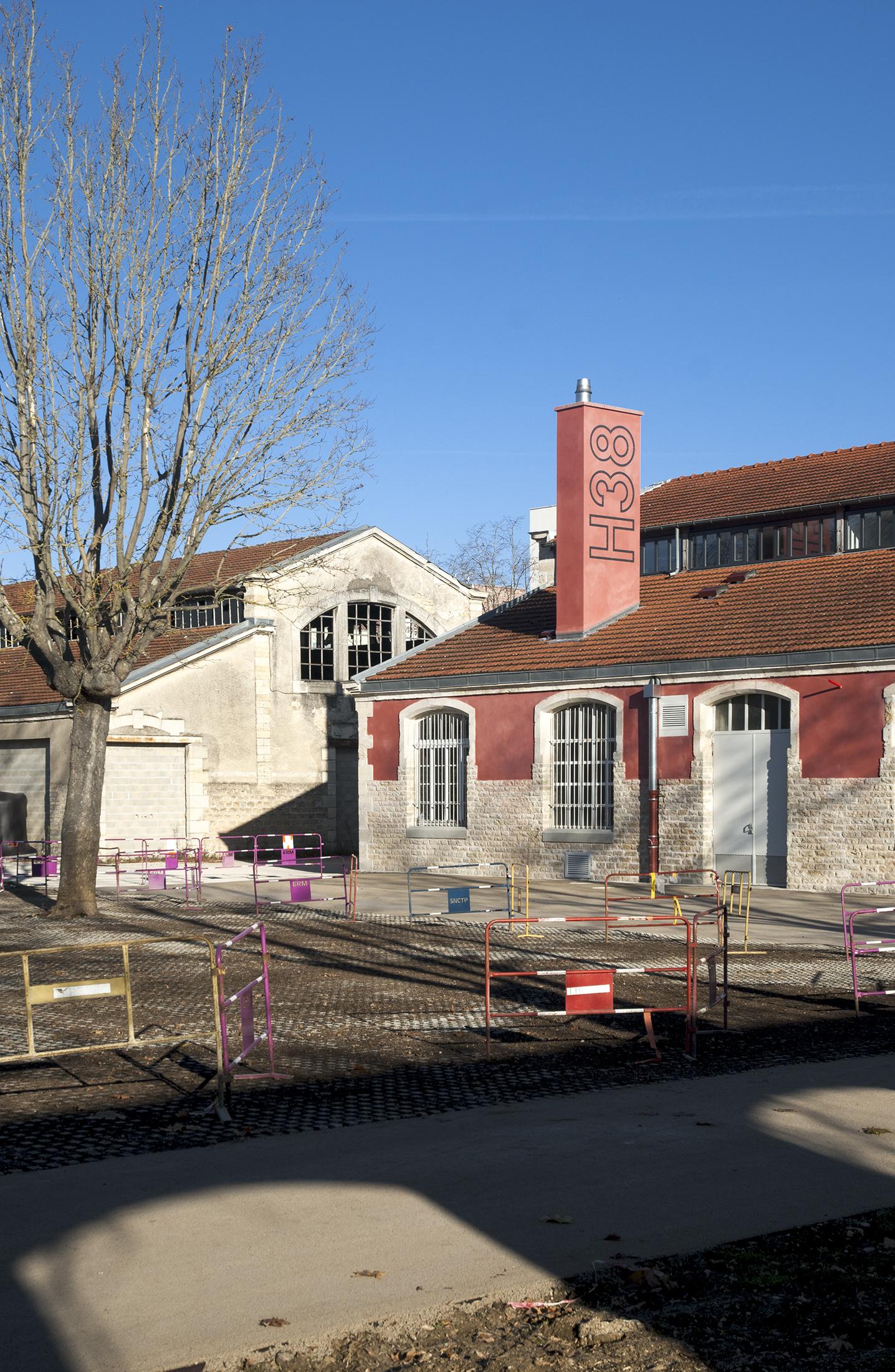 Chouette architecture - réhabilitation Halle 38 Dijon - 2200 17
