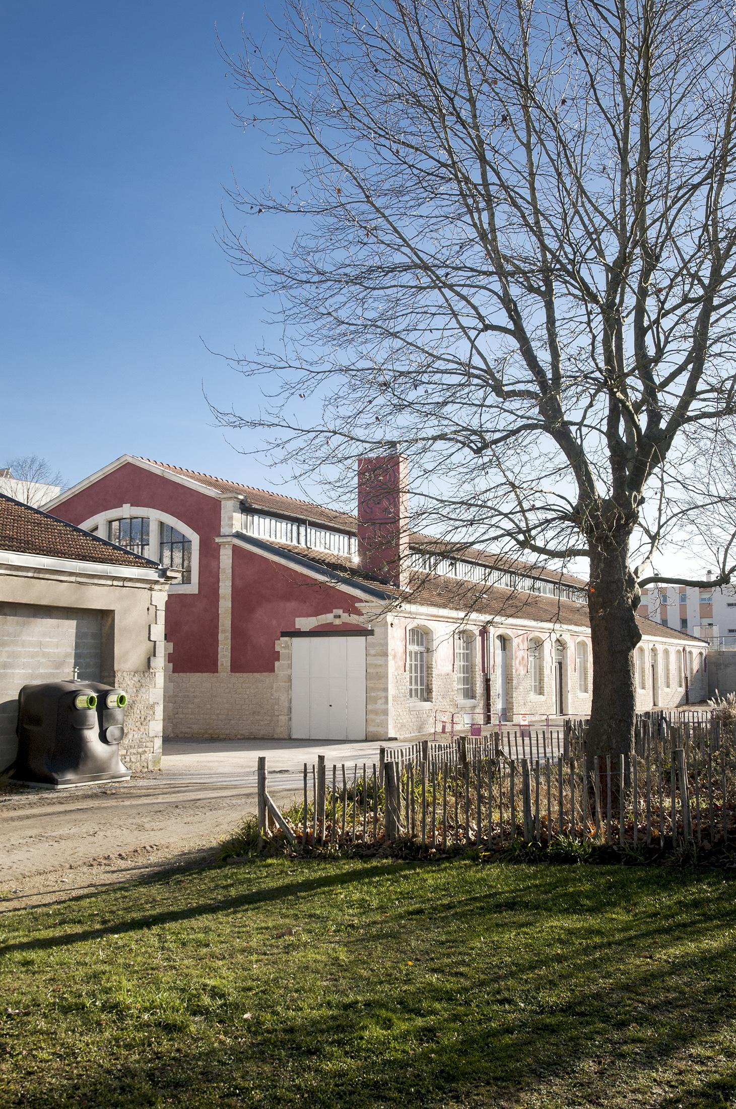 Chouette architecture - réhabilitation Halle 38 Dijon - 2200 18