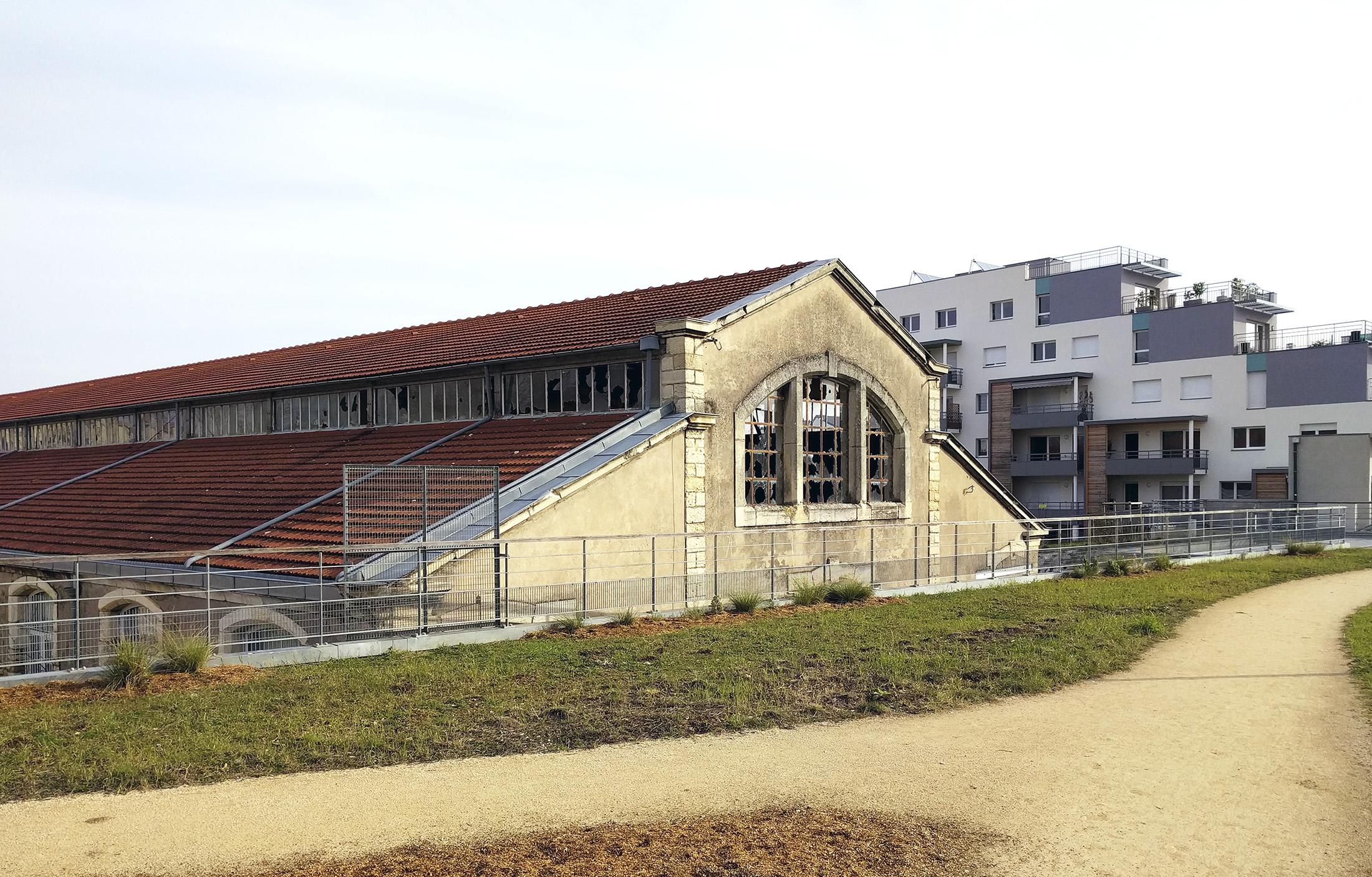 Chouette architecture - réhabilitation Halle 38 Dijon - 2200 7