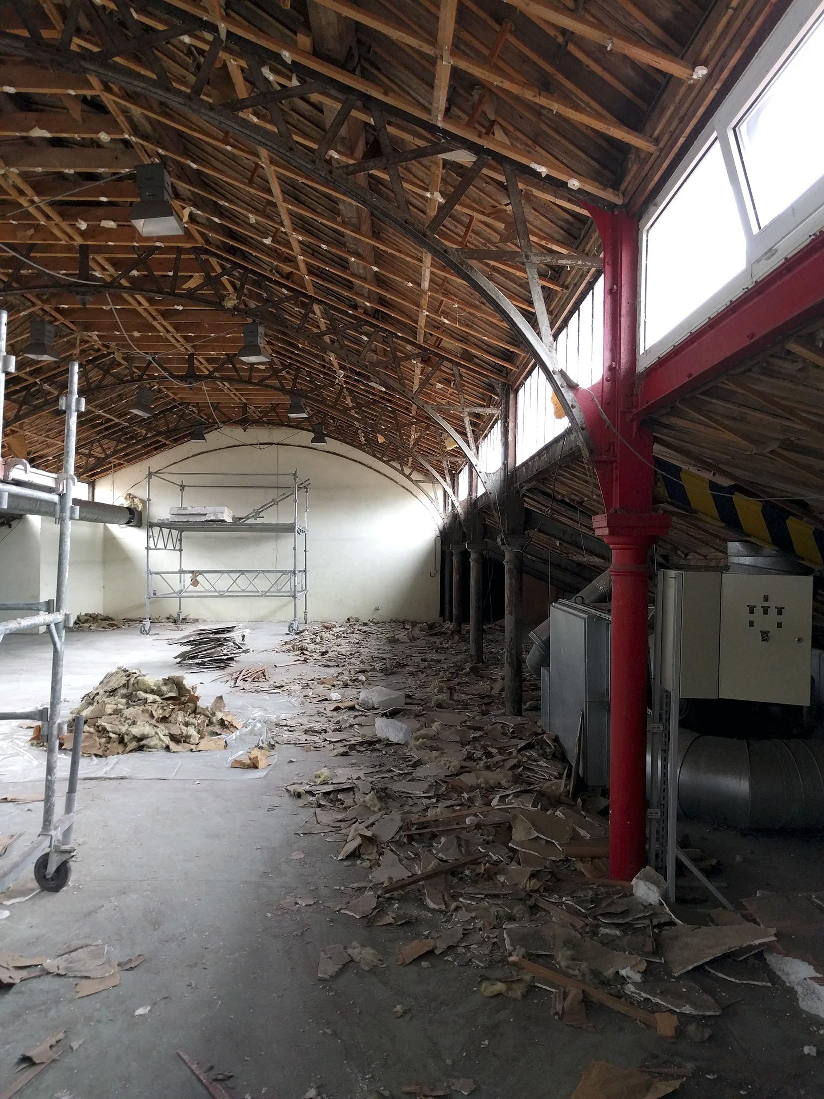 Chouette architecture - réhabilitation Halle 38 Dijon - 2200 8