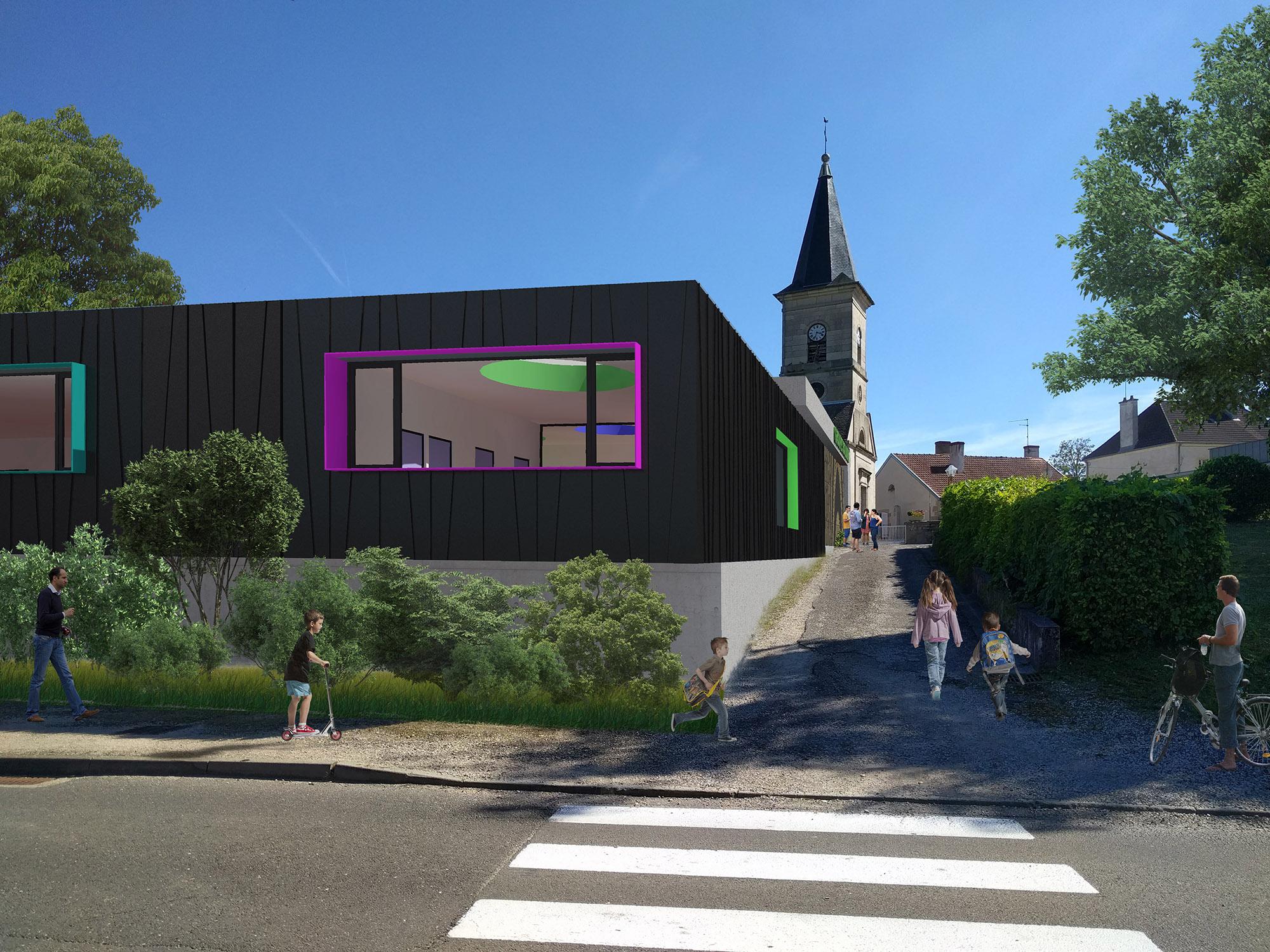 Chouette-architecture-école-élémentaire-Saint-Seine-en-Bâche-2000-1