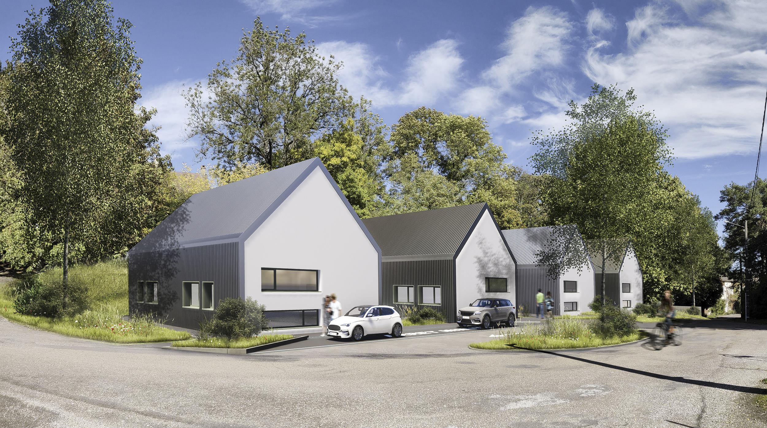 Chouette architecture - maison de santé pluridisciplinaire - saint-seine-l'abbaye - 2000 1
