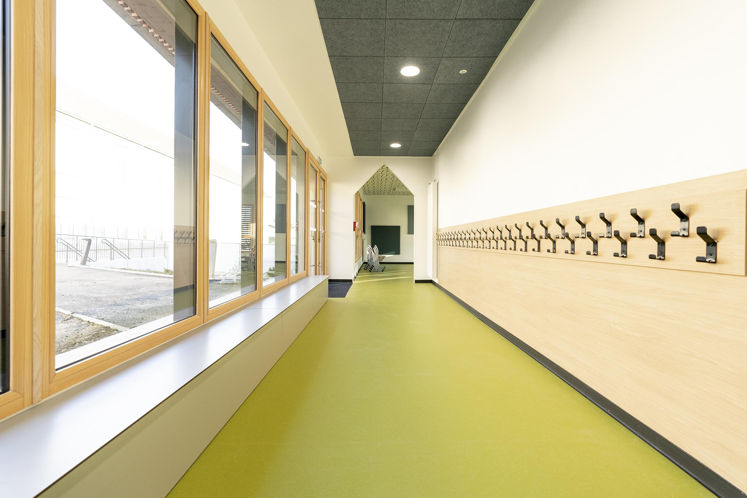 Chouette architecture - restaurant scolaire - fontaine les dijon - 2000 9